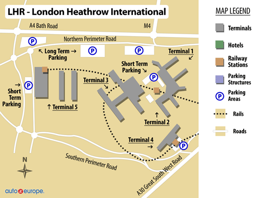 Car Hire Heathrow Airport Terminal